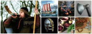 viking day collage