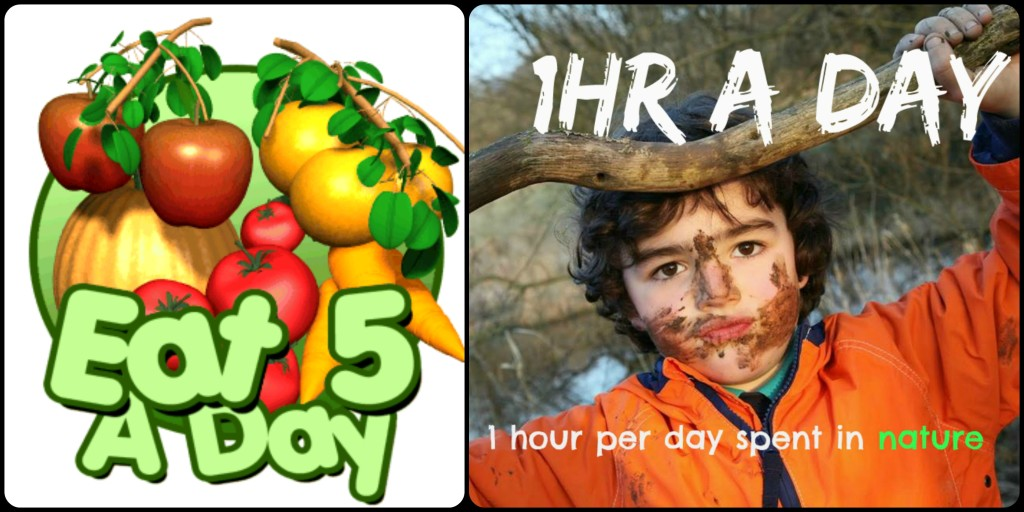 kids need at least 1 hour per day spent in nature