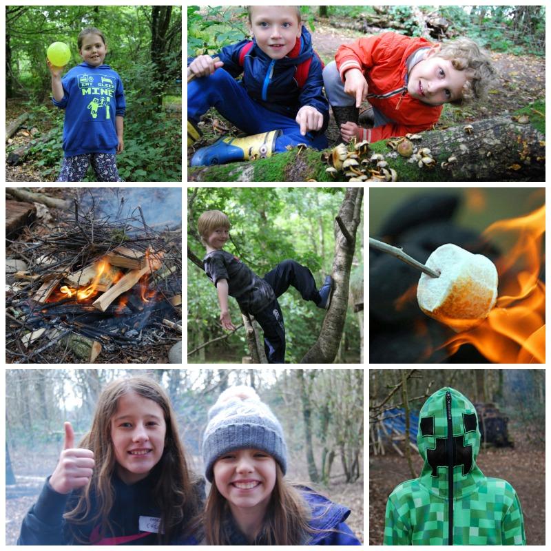 Wildcraft Adventure. Video gamers in the outdoors