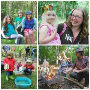 Family Fun Day in the Woods