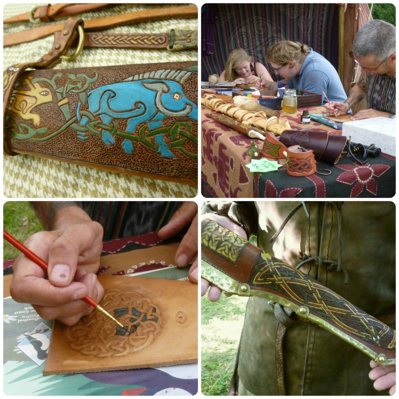 leather craft workshop in north wales