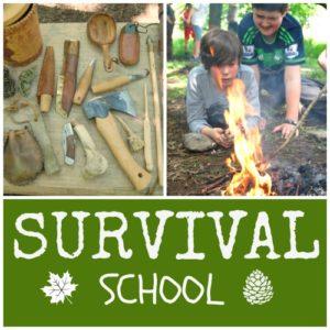 survival school for kids