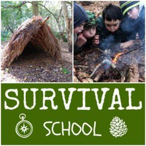 survival school in wales for children