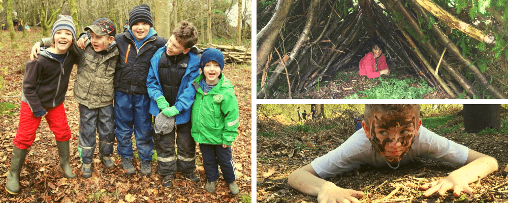wild in the woods - forest school for kids
