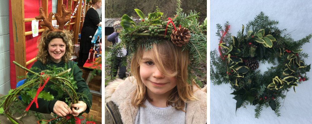 christmas event for kids in the woods - north wales