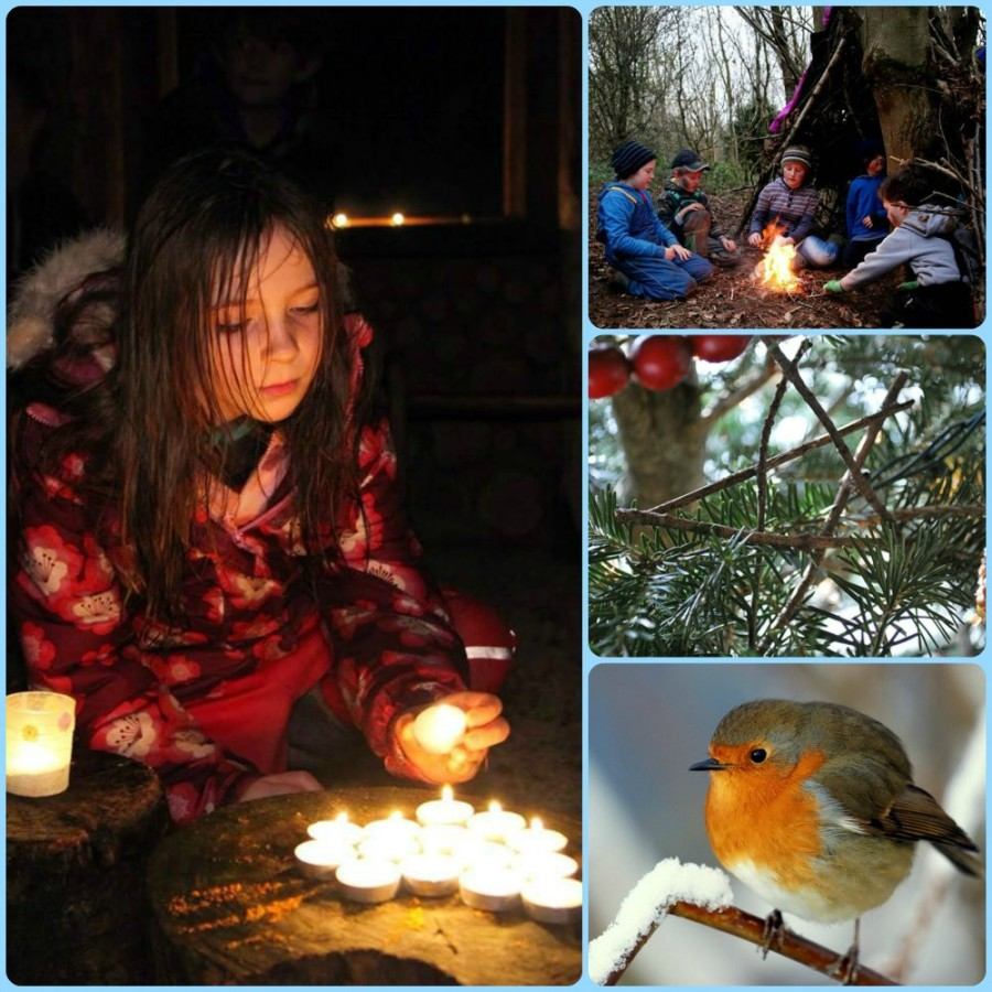 Forest School at Christmas