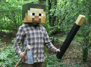 Steve from the Real Minecraft Adventure