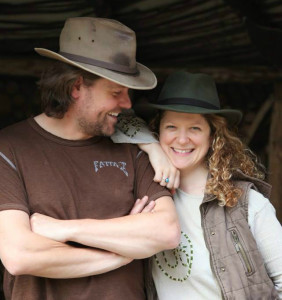 james and lea from woodland classroom