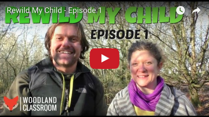 rewild my child - forest school vlog