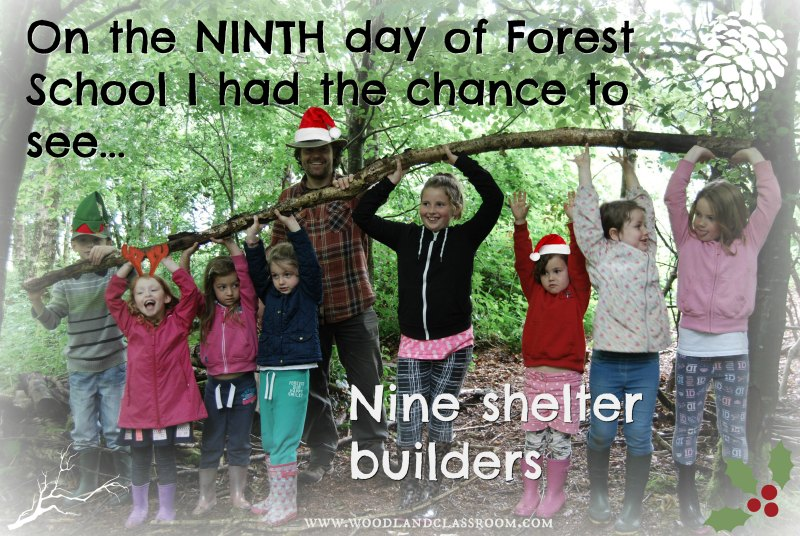 nineth day of forest school christmas