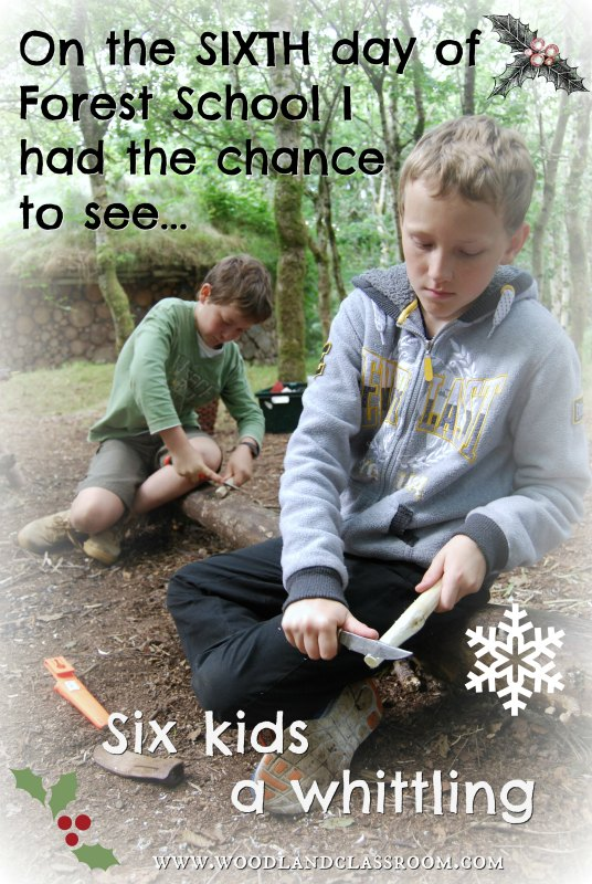 sixth day of forest school christmas