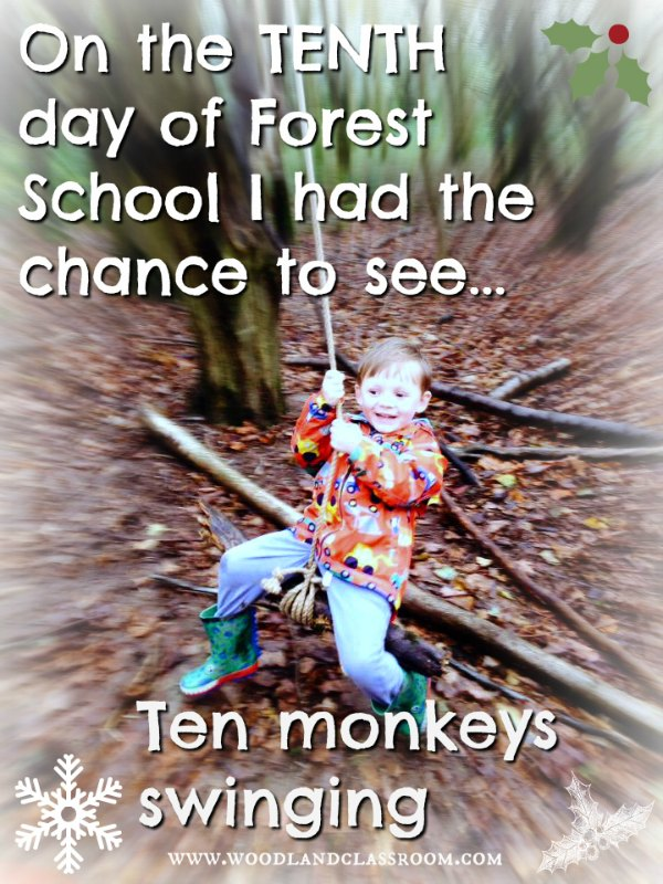 tenth day of forest school christmas