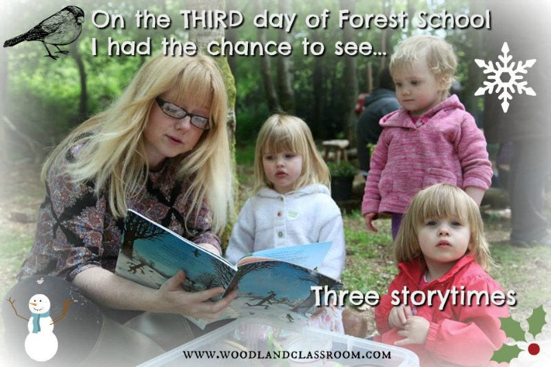 third day of forest school christmas