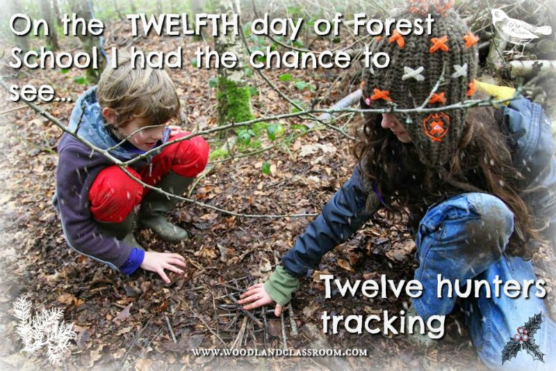twelth day of forest school christmas