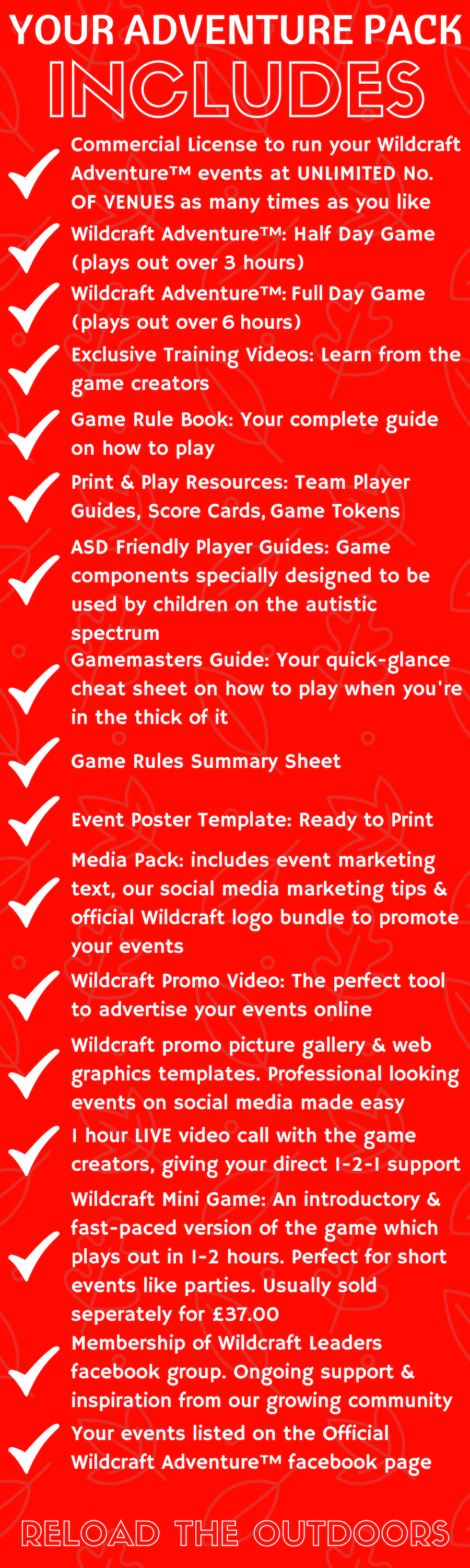 Wildcraft Level 3: what is included
