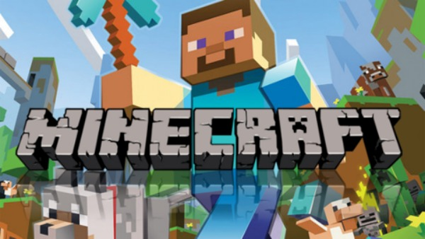 minecraft official logo