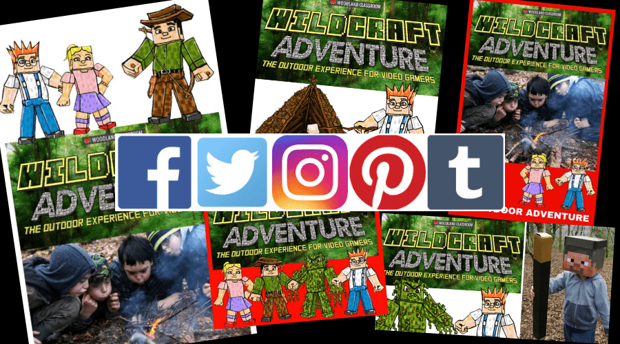 wildcraft social media graphics