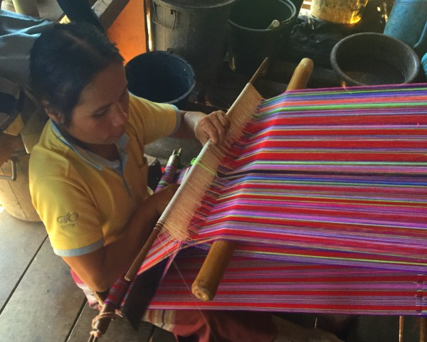 karen hill tribe weaving
