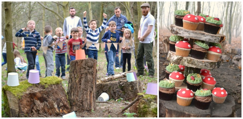 wild thyme birthday parties in the woods