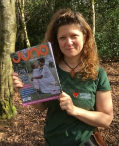 forest school in juno magazine