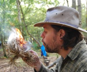 james kendall - forest school leader and bushcraft