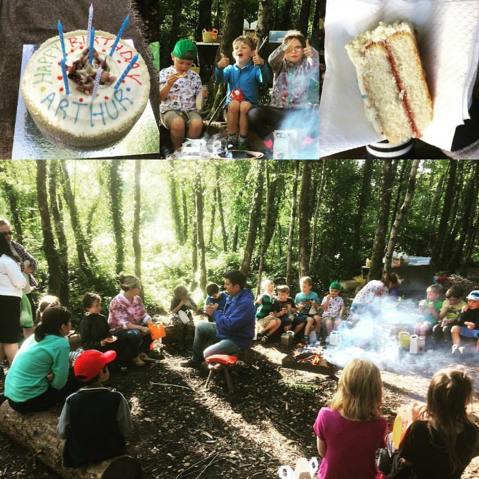 birthday party in the woods north wales