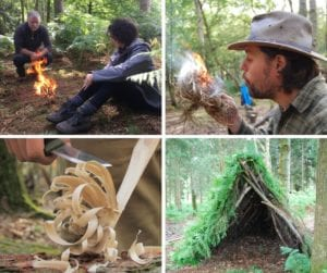 bushcraft skills course in north wales