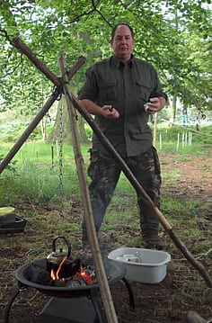 nick hulley - bushcraft teacher