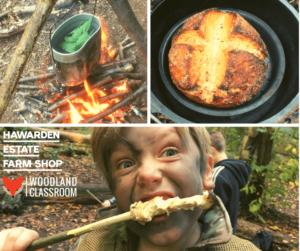 campfire cooking for kids workshop