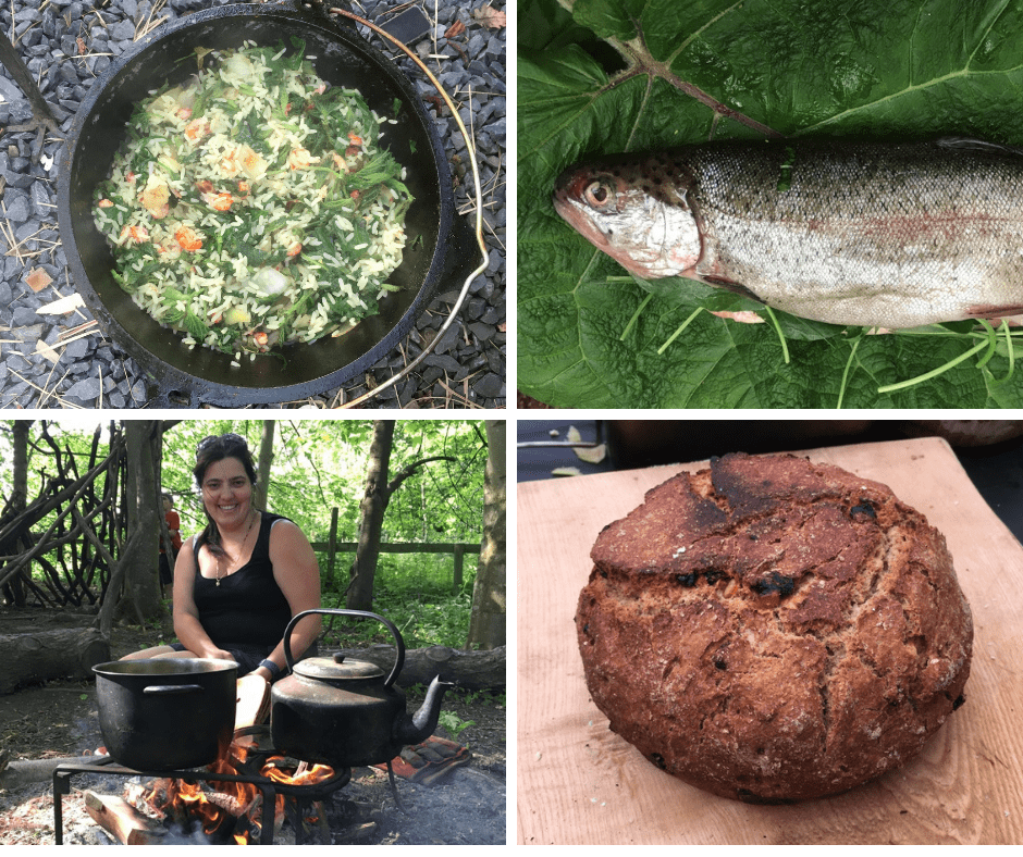 campfire cooking course in north wales