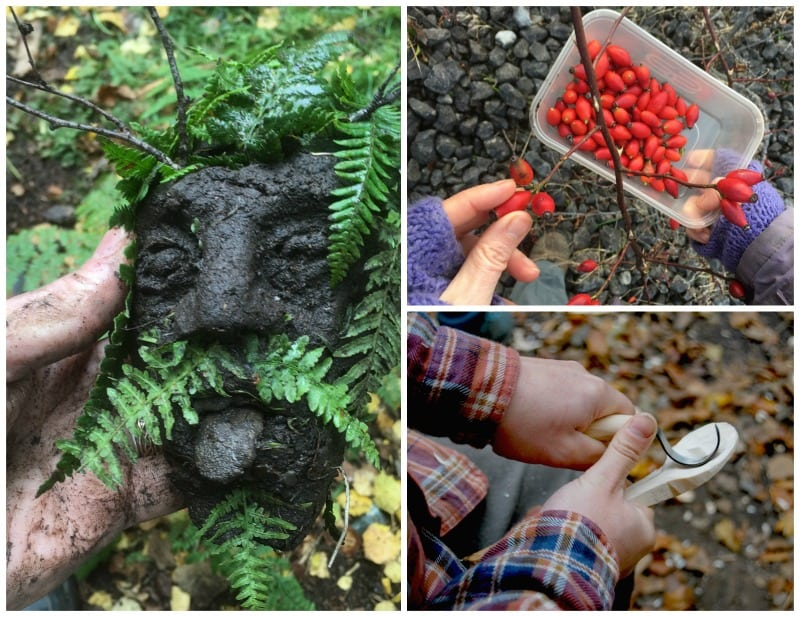 bushcraft and mindfulness in north wales