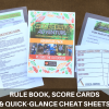 Wildcraft Adventure Pack preview - Rule Book, Cheat Sheets & Score Cards