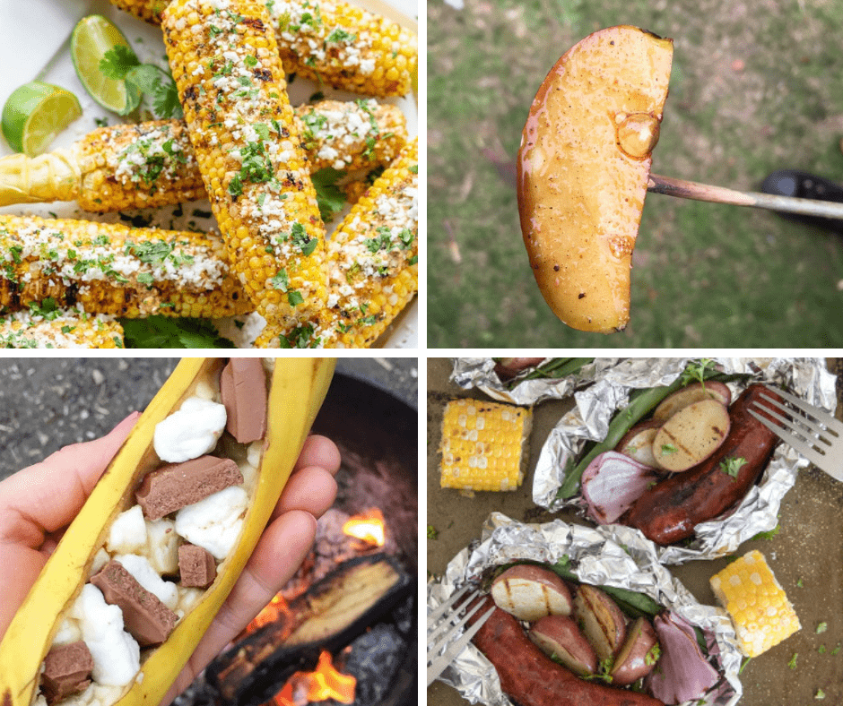 summer camp - alternative campfire cooking ideas for food