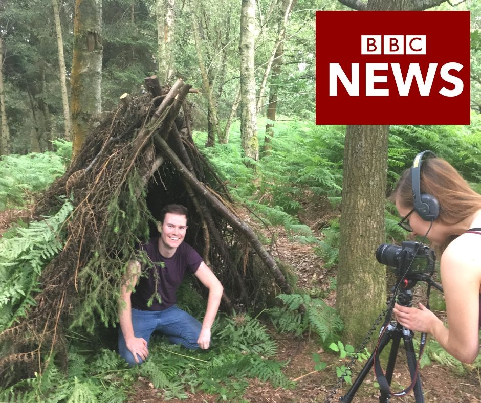 mindfulness in nature on the BBC