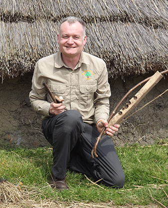 Dave Watson from Woodland Survival Crafts