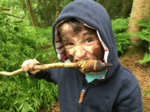 campfire cooking workshop for kids in north wales
