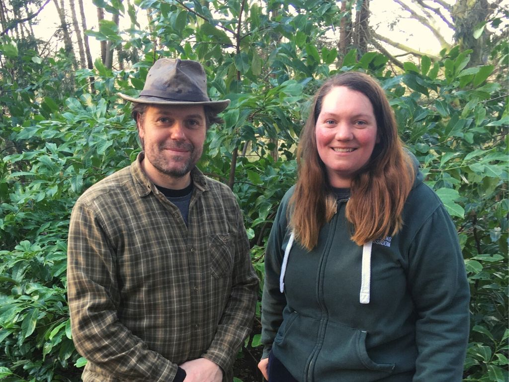 james kendall & kay ribbons-steen forest school leaders