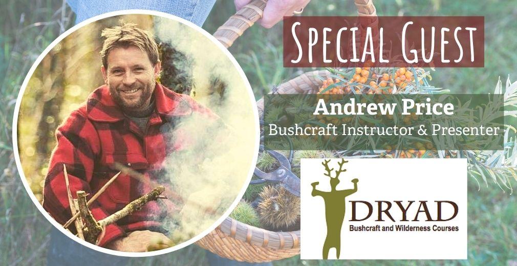 andrew price from dryad bushcraft