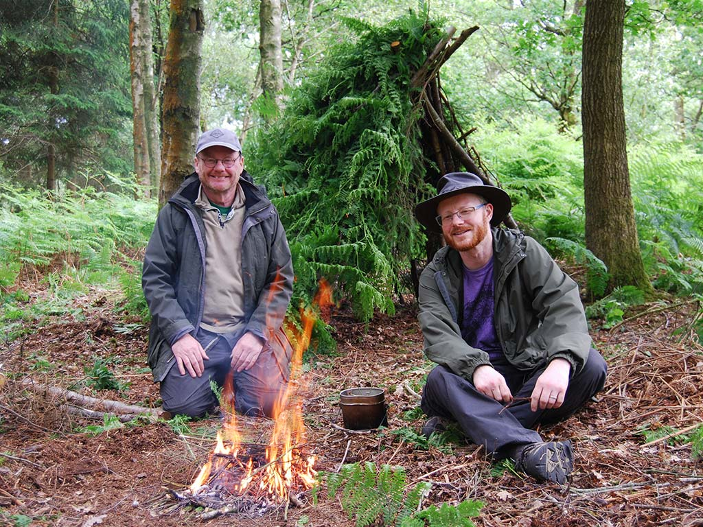 bushcraft skills in north wales