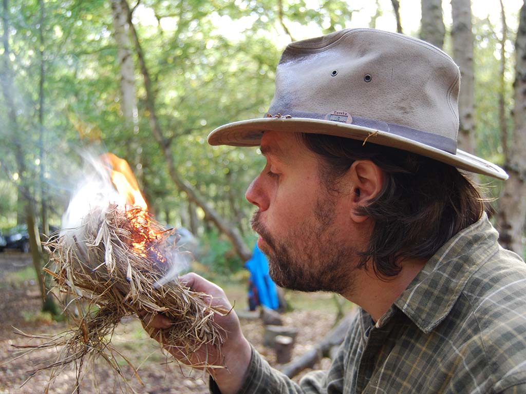 james kendall - bushcraft skills tutor