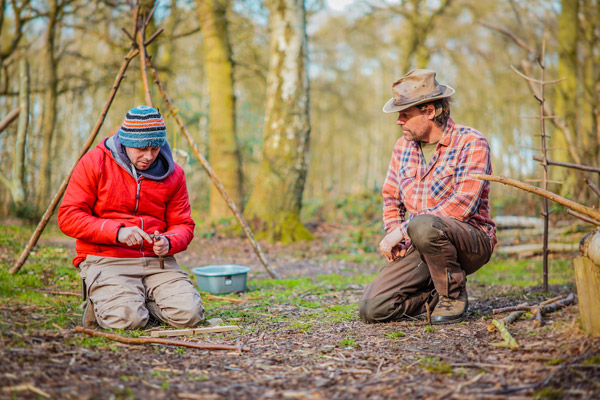 1-2-1 Bushcraft Tuition