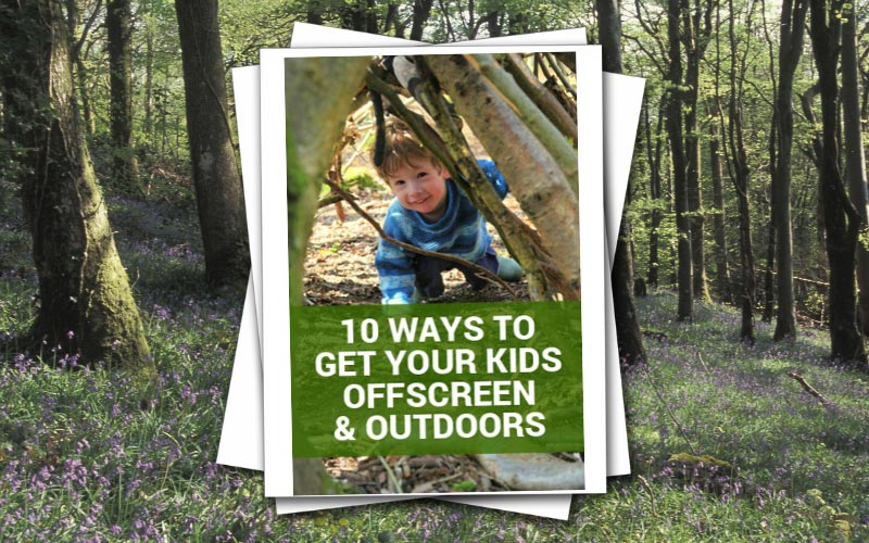 10 WAYS TO GET YOUR KIDS OFF SCREENS & OUTDOORS