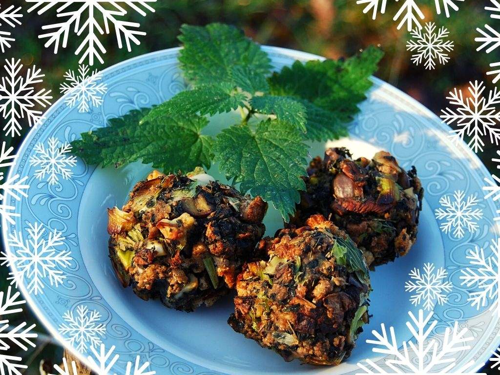 make wild woodland stuffing foraging