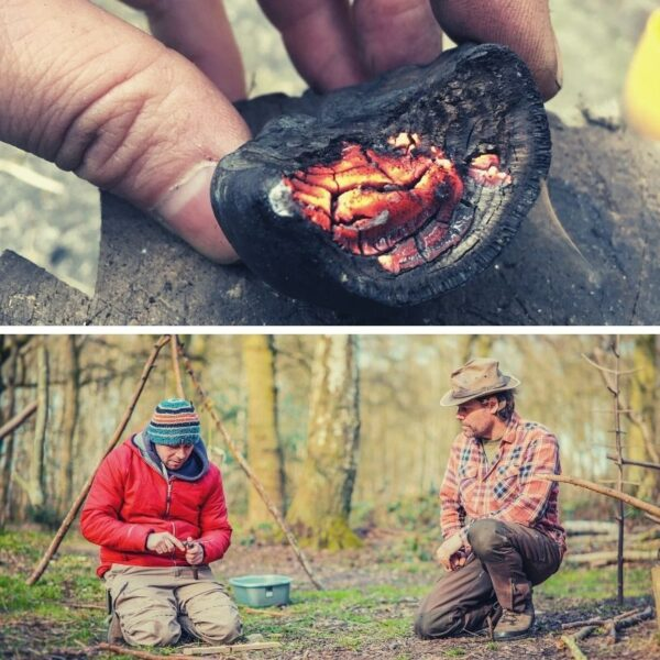 one to one bushcraft tuition in north wales