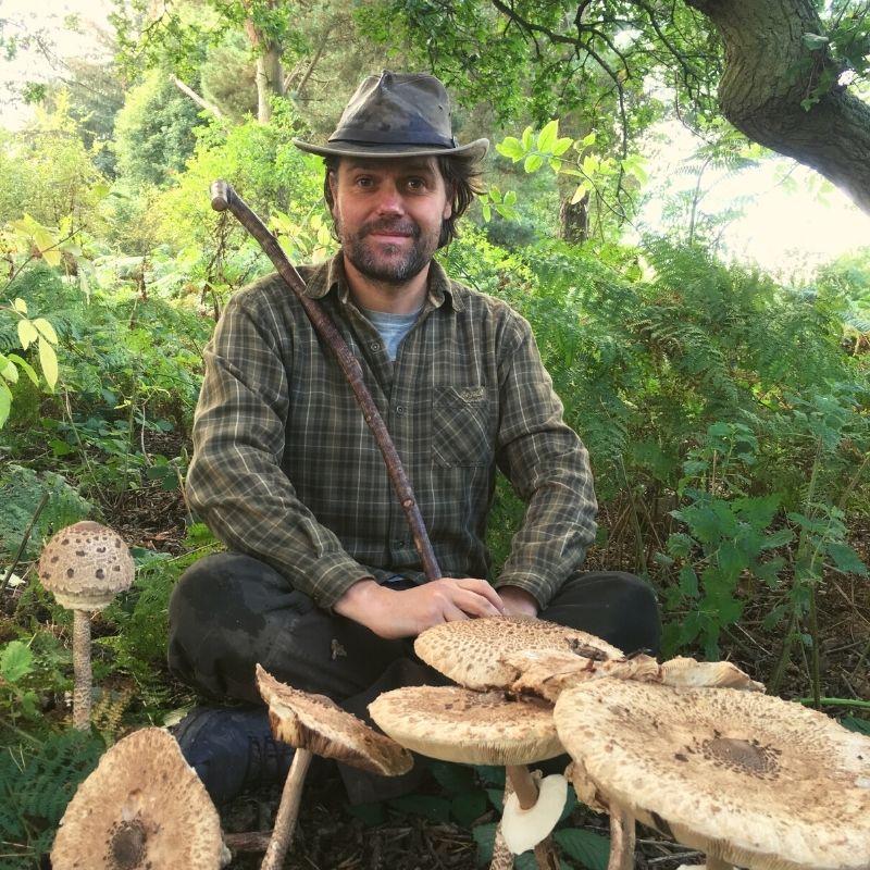 james kendall - bushcraft & foraging tutor